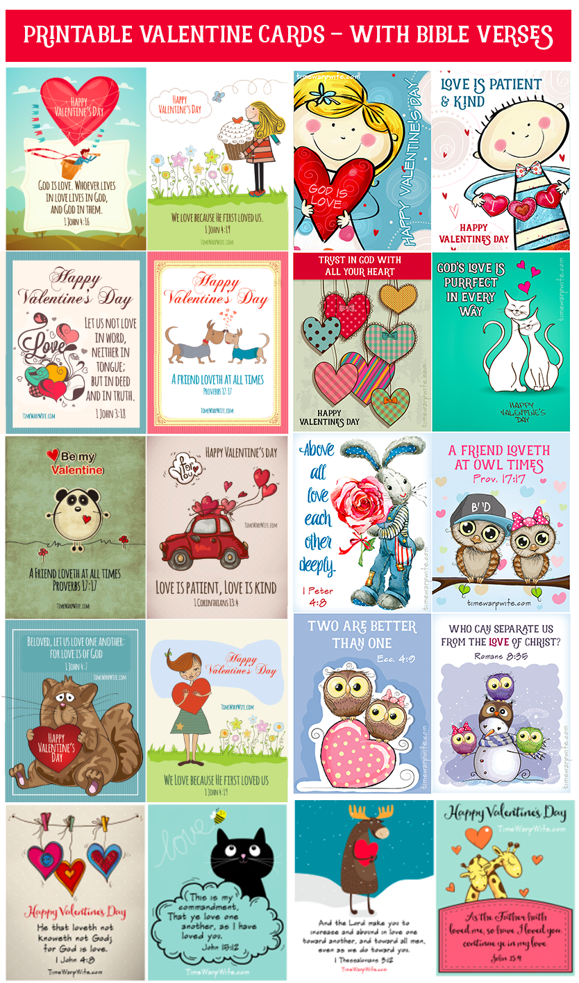 printable valentine cards with bible verses busy books and more